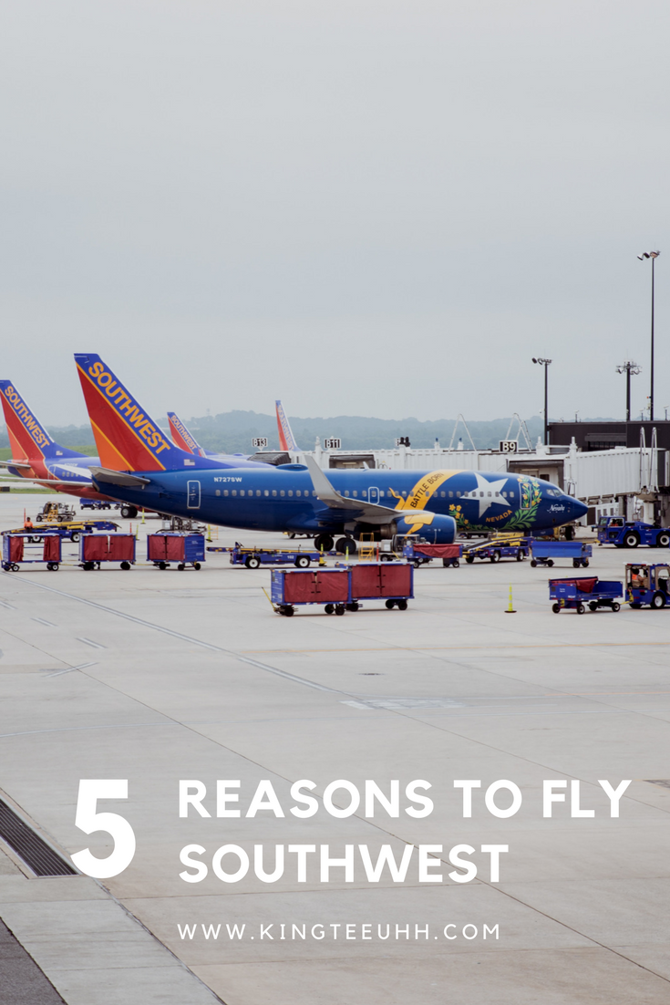 Reasons to fly SW pin