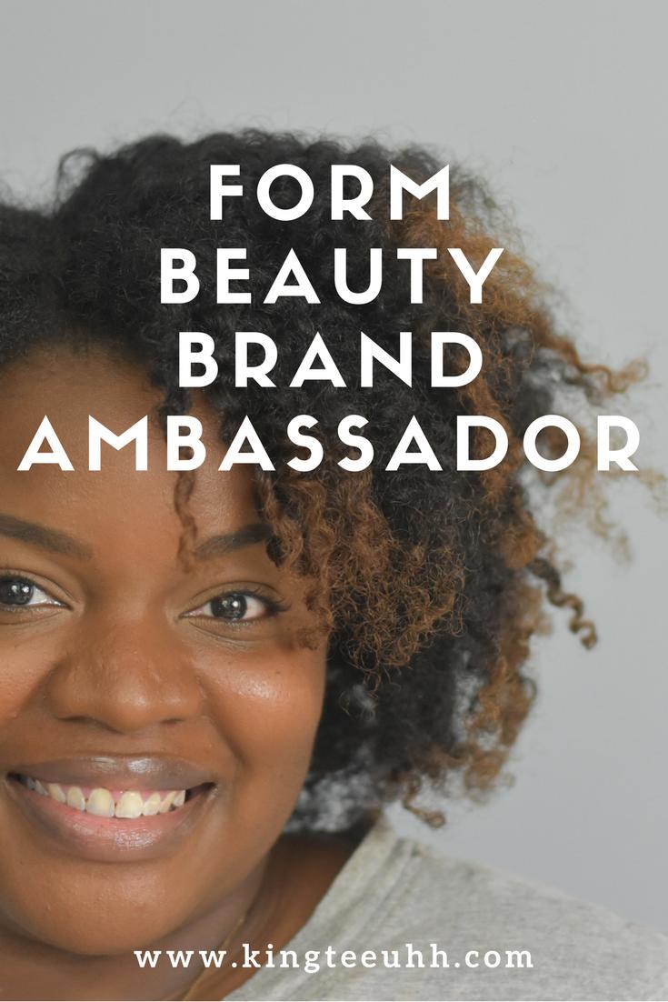 FORM Beauty Ambassador Pin